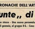 "Gruppo Culturale "" 8 G "", Ascoli P. 1972"