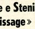 """Noschese e Steni al """"vernissage"""""""