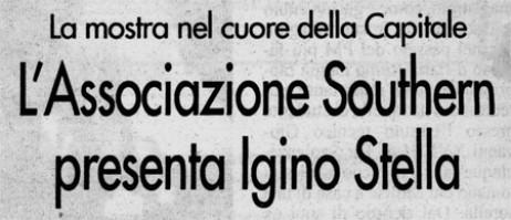 """""""Il Messaggero"""" – Southern Art Gallery, Roma 1994"""